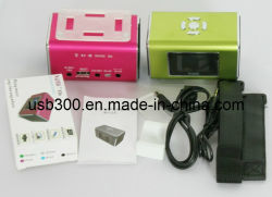 휴대용 MP3 음악 스피커 TT6 (TT6)