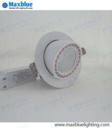 40W 50W отверстие 155мм кри початков Благодаря вандалозащищенному светодиодные потолочные лампы