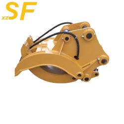 hydraulische Schelle-hölzerner Steinfelsen des Exkavator-12t