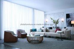 La decoración de bodas europeo organza pura cortina de tela textiles para el hogar