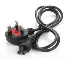 Утверждение Bsi BS1363 Пробку с плавким предохранителем UK шнур питания 13A 250 В IEC C5