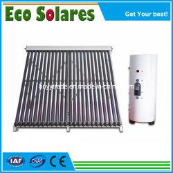 Dividir la Energía Solar Calentador de Agua del Sistema con caloducto/plato llano tubo colector solar/U.