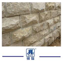 أصفر أردواز يفرش فطر [ستون ولّ] واجهة فطر جدار حجارة لأنّ [ولّ بنل] [كلدّينغ] وجدار ركن