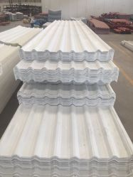 Plastico PVC Teja温室のプラスチックパネルの熱絶縁体PVC空の熱の屋根