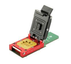 플래시 메모리 리더기, EMCP 어댑터와 SD 카드, EMCP 테스트 소켓_11.5X13mm, 호환 BGA162 및 BGA186, 프리미엄, 솔더 볼, 법의학, 데이터 복구 기능이 있는 IC용