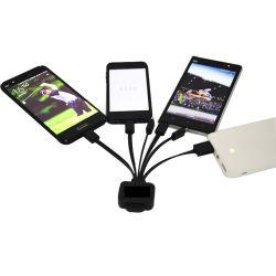 고품질 OEM 1개의 비용을 부과 케이블 연결관에 대하여 다중 USB 접합기 5