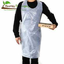 Hogar Médico colorido blanco adulto delantal de plástico desechables biodegradables