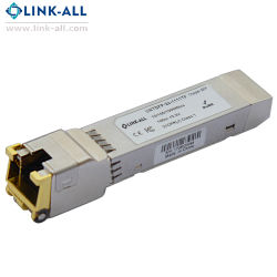 Transceptor de Fibra módulo SFP de cobre (conector RJ45)