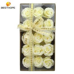 Baño de flores de jabón natural personalizada Body Wash Box Set de regalo