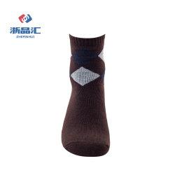 Классические шерстяные носки с призматические проверки для деловых людей