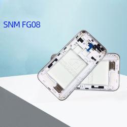 Silbernes Pasten-Drucken für vorderen Deckel des Handys