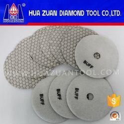 Type universel cuir épais sec de garniture de polonais de diamant