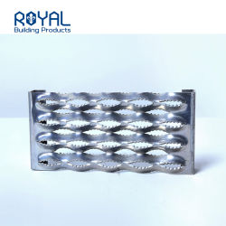 Antideslizante puñetazos Dock Plank emitidos Shandong pasarela cubierta perforada de aluminio de Piso hecho personalizado ventilación rejilla de metal