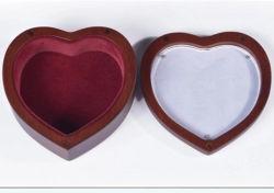 Urna di legno su ordinazione di lusso di cremazione dell'animale domestico da vendere Heart-Shaped