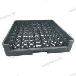 商業Restaurentの台所乾燥止め釘の正方形のプラスチック版の皿ラック