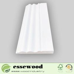 White Escorvado Fj irradiar ripas de rodapé de madeira/Placa Controladora