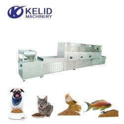 Industrielle Mikrowellen-Trockner-und Sterilisator-Maschinen-Nahrung- für Haustierefisch-Zufuhren