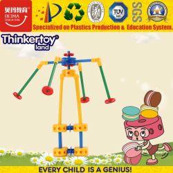 2017 горячая продажа интеллектуального образования 3D-пластмассовых ребенка головоломки игрушка