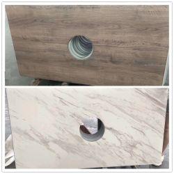 Keramisch glas marmer ontwerp Hout graan ontwerp Glas getemperd glas Gehard glas voor Kotatsu Tablejapanese verwarmingstafel
