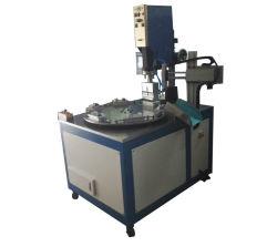 ماكينة لحام علبة بلاستيكية تعمل بالموجات فوق الصوتية آليًا لـ PP / PVC
