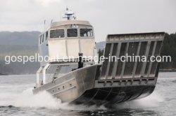As embarcações de desembarque de alumínio com uma casa do leme