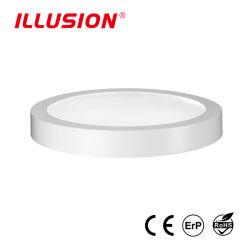 Горячая продажа 9W поверхностного небольшие Круглые светодиодные лампы панели