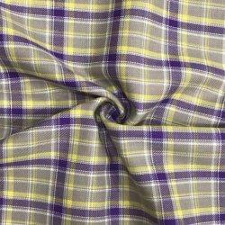 Venda por grosso de 100 % algodão tingidos Plaid tecido flanela para Pajama Camisa