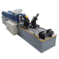 工場金属カラー鋼鉄スタッドおよびトラック倍のせん断システムライトキールのプロフィールは形成を冷間圧延し機械を作る