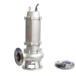 Wqk Serien-versenkbare Abwasser-Pumpe mit Scherblock (Edelstahl)
