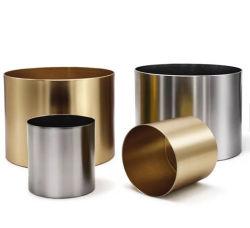 現代ステンレス鋼の植木鉢の金属の花の棚