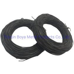 Precio barato al por mayor de 2,5 mm de alta calidad 4mm de calibre 20 Ate el alambre trenzado Alambre Recocido negro