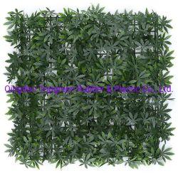Legno di Boxwood Decrtive bordo verde foglie artificiali parete