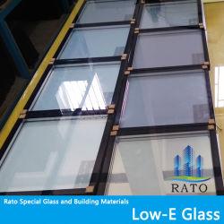 Suministro de la fábrica bajo reflexivo e Cristal Templado de doble acristalamiento de aislamiento de los paneles de vidrio