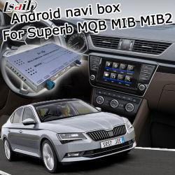 Lasault Android Gps Navigatiesysteem Voor Skoda Prachtige Video Interface Mqb Mib Mib2 Carplay Waze Youtube Yandex