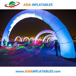 Arche gonflable avec des voyants LED pour la décoration