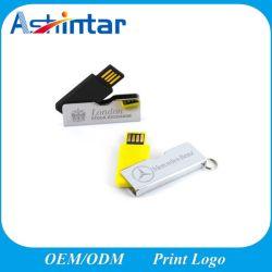 Disque flash USB en métal Pendrive Mini Lecteur Flash USB Twister Stick USB pivotant