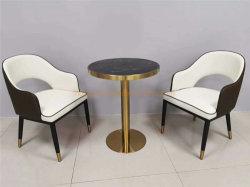Meubles de salle à manger Marbre Table à café de meubles d'affaires moderne
