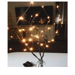 シミュレーションのツリーブランチランプLED表はクリスマスの祝祭の装飾をつける