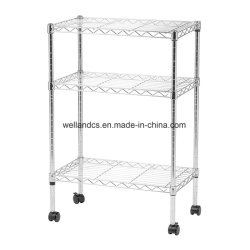 Vente en ligne DIY 3 niveaux Accueil Multipurpose étagère rack de stockage des ménages titulaires