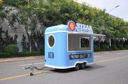 Automobile mobile dell'alimento del camion dell'alimento della caffetteria del carrello dell'alimento della via di vendita dell'alimento