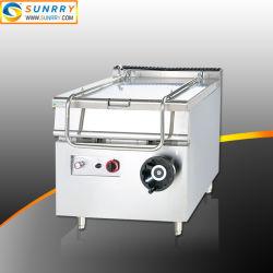 Una buena calidad de gas comercial en ebullición de inclinación de 80L/freír/Braising precio de fábrica de pan