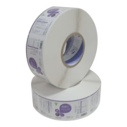 Kundenspezifischer Kunstdruckpapier-selbstklebender Nahrungsmittelgesundheitspflege-Flaschen-Aufkleber-Kennsatz