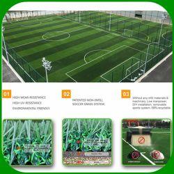 Het nietInfill Gras van de Voetbal voor MiniSportterrein