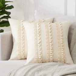 Couchの寝室Car Home Decorのための贅沢なWool Blend Cushion Covers Decorative Throw Pillow Cover