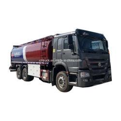 Sinotruk Räder 6X6 alle des HOWO Aluminium6X4 und 6X6 kraftstofftank-LKW-12 gefahrener 20000L 18000L 22000L 25000L Kraftstoff-TransportRefuelling 18ton 20ton 25tons