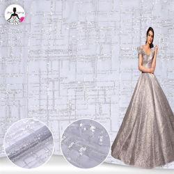 Nouvelle collection Glitter Crystal paillettes Sparkle Sequined dentelle Dentelle Tissu Tissu