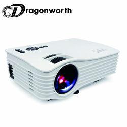 Van het mini Volledige 3D LEIDENE HD 1080P Projector 150lumens de Ingebouwde WiFi Hologram UC36+ voor Uw Telefoon