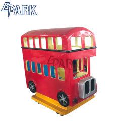 Epark London Sitzrot Bus-Schwingenerwerben Schwingdes kiddie-Fahrauto-3 Geld-Säulengang-Spiel-Maschine für Verkauf