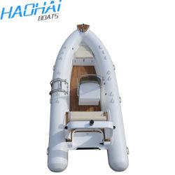 Novo Modelo 5m costela grande em fibra de vidro usados pescam barcos infláveis para venda com marcação CE