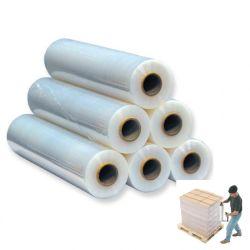 Starke Film Strech Ladeplatten-Verpackungs-Plastikfilmshrink-Verpackung der Dehnung-300%-500% LLDPE